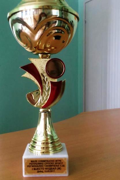 Екипа женског фудбала освојила прво мјесто