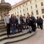 Слика ученика у Прашком дворцу
