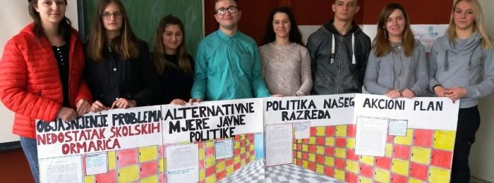 Школско такмичење из демократије