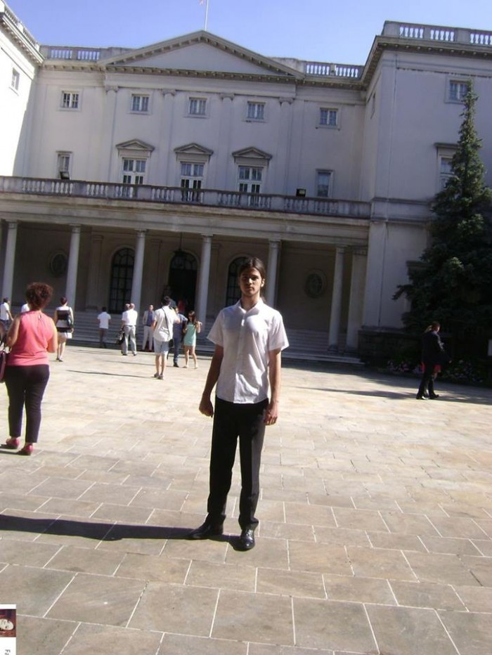 Никола Зубић на Белом двору