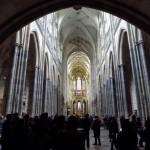 Унутрашњост катедрале Св. Вита