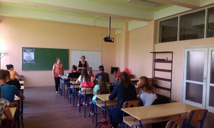 Предавање за ученике о насиљу у партнерским везама