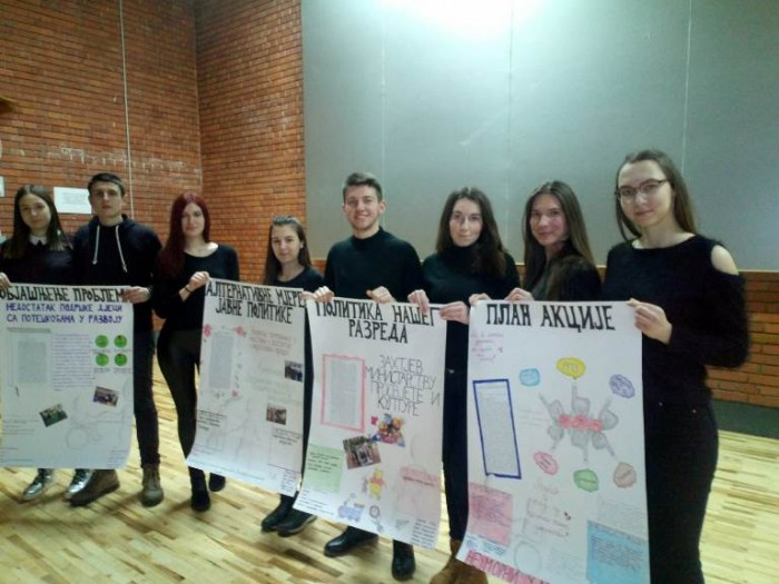Школско такмичење из демократије и људских права