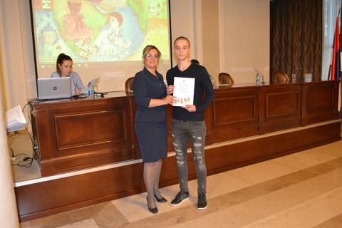Дамјан Цвијић – побједник литерарног конкурса