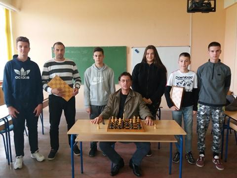 Шаховска секција у нашој школи