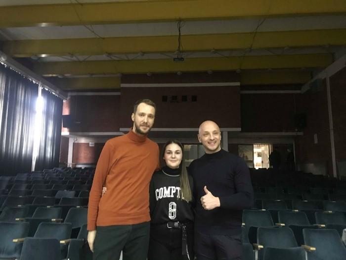 """Александра Маријановић на такмичењу """"Ритам Европе"""""""
